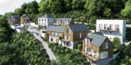 CGI image of The Cormorant development