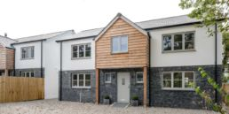Green and Rock Home Elmwood and Oakwood in trelights, port Isaac. natural stone and wood design.